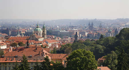 notability:  Prague - from castle hill