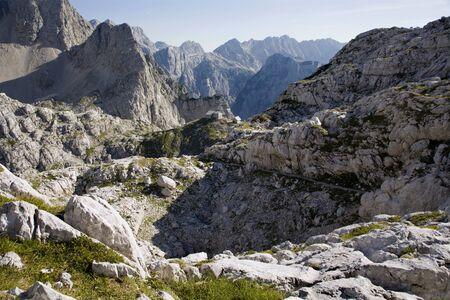 bower:  Alps landscape and bower - Pogacnikov dom - Julian alps