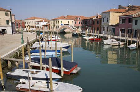 murano:  Venice - canal from San Murano island  Editorial