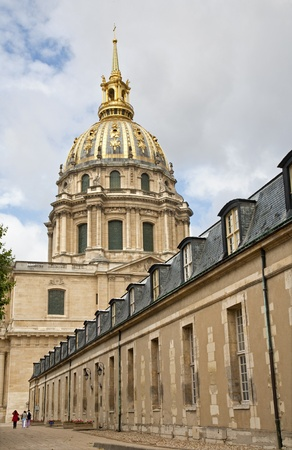 Paris - Les Invalides church from east Stock Photo - 15621914