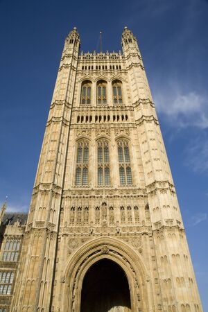 London - tower of parliament  Stock Photo