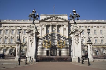 London - Buckingham palace and gate