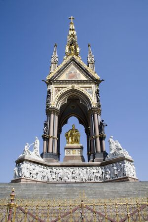 London - Prince albert memorial in Hyde park photo