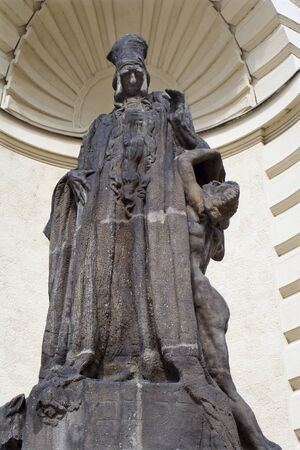 jewry: Prague - rabbi Löw statue