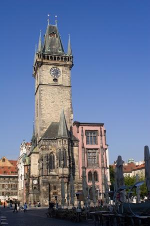Prauge - old townhall - gothic Stock Photo - 15902779
