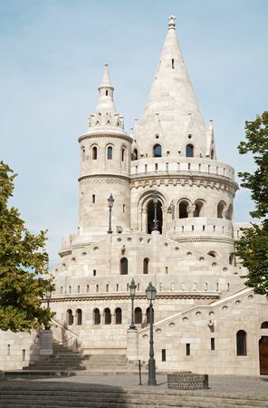fisherman bastion:  Budapest - Fisherman s Bastion
