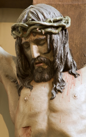 Jesus Christ on the cross from Vienna church  Stock Photo - 15902157