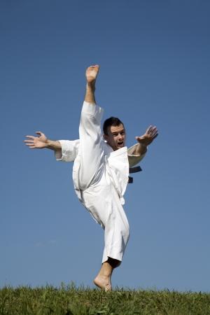 kata:  world champion of Karate - kata - training