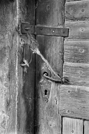hasp: old door