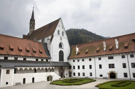 cloister: Gaming - late Carthusian cloister in Austria