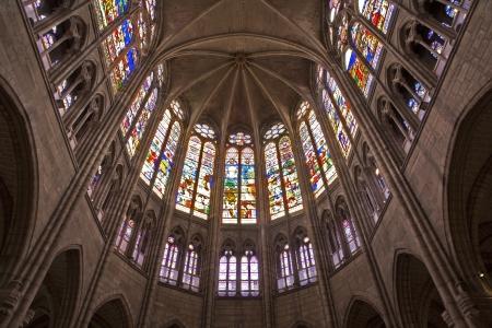 religiosity: Paris - Saint Denis cathedral - sanctuary