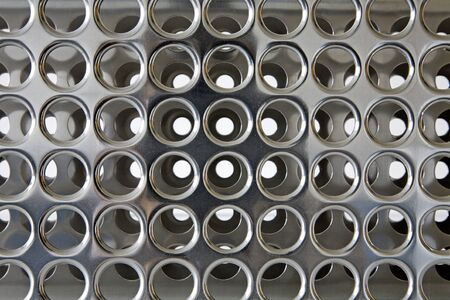 burrow: perfored metal palte background