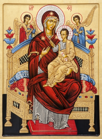 Rome - icon of holy Mary
