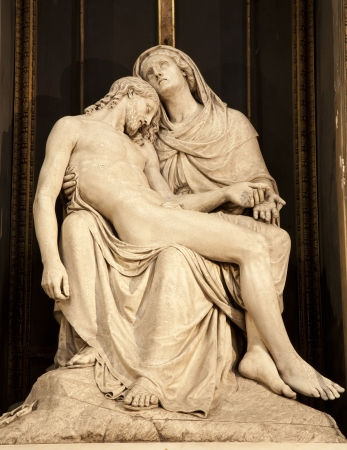 mother of jesus: Milan - Pieta from Sant Alessandro church