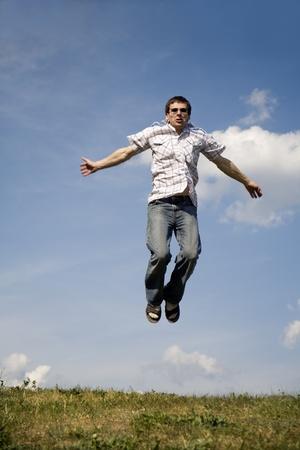 accomplishment: fly of man - accomplishment