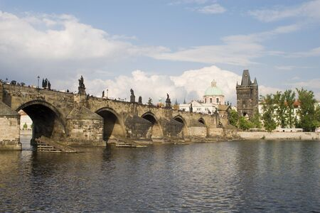 Charles bridge in Prague  Stock Photo - 17013634