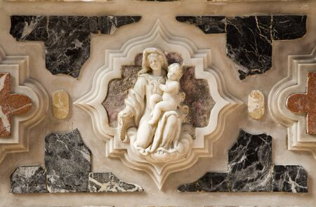religiosity: Venice - holy mary from altar of st  Peters church - Murano