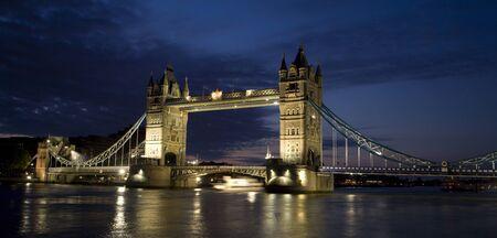 London - Tower bridge in morning