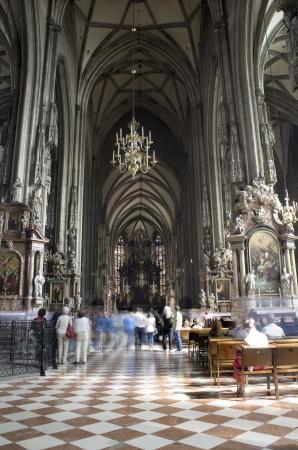 religiosity: Vienna - st  Stephen cathedral - interior