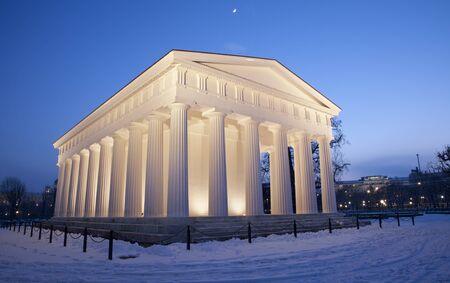 Vienna - Volksgarten  Theseus temple from years 1819 bis 1823 by Peter von Nobile Stock Photo - 17554566