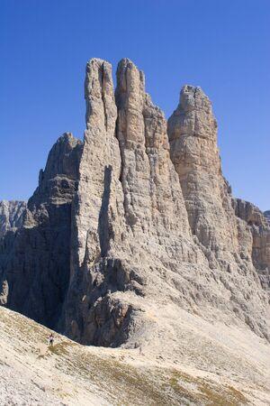 vajolet:  vajolet towers - dolomite