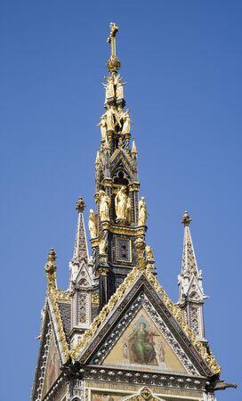 London - Summit of Prince Alber memorial