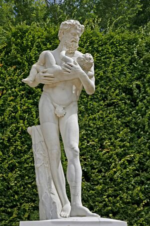 Paris - statue from garden of Versailles palace Stock Photo - 17877343