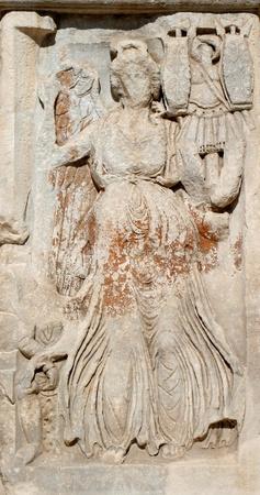 senescence: Rome - relief from Constanitne triumph arch
