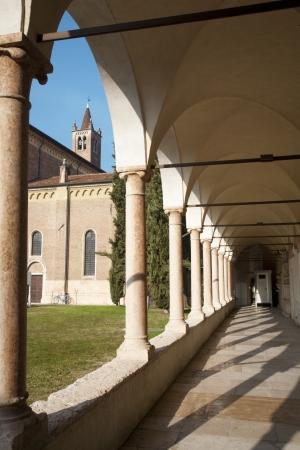 bernardino: Verona - and atrium of San Bernardino church