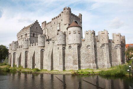 gent: Gent - Gravensteen - old castle, Belgium