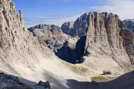 vajolet: Dolomite - Vajolet towers - Rosengarden group