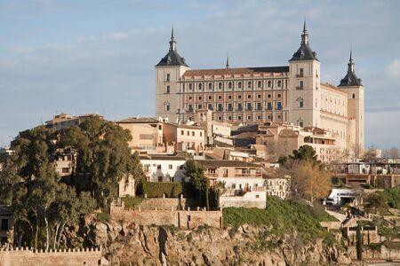 alcazar: Toledo - Alcazar in morning light