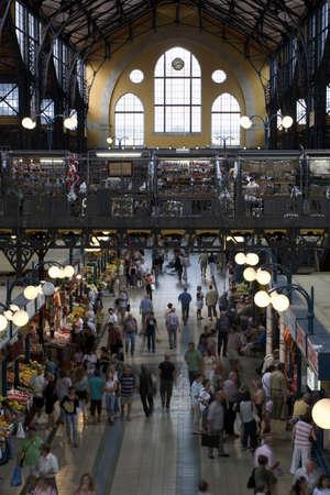 emporium: market hall in Budapest  Editorial