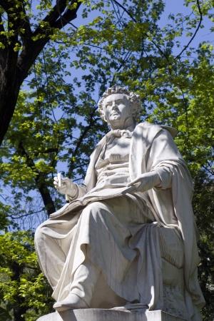 franz: Vienna - Franz Schubert statue from Stadtpark