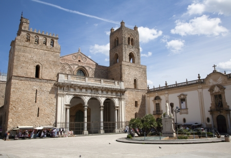 Palermo - Monreale cathedral is dedicated to the Assumption of the Virgin Mary and is one of the greatest extant examples of Norman architecture in the world