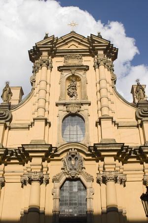 notability: facade of st  joseph church in prague