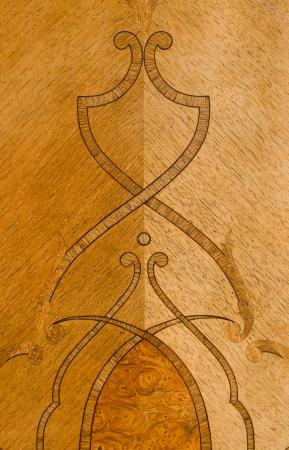 marquetry: intarsia -detail