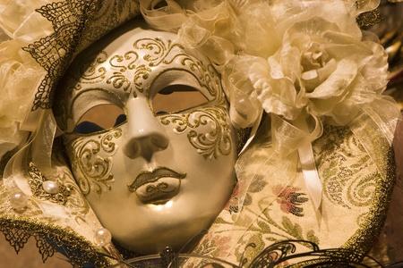 Venice - gold mask  photo