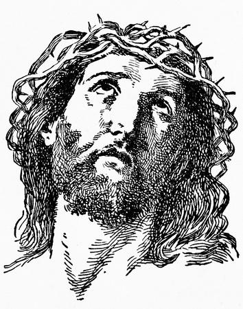 Disegnare di Gesù Cristo Archivio Fotografico - 19661615