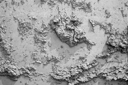 morass: face of dry clarts Stock Photo