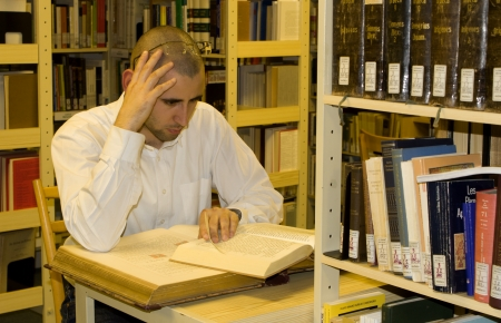 chignon: studen at read