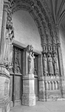 religiosity: Paris - portal of Saint Germain-l Auxerrois gothic church