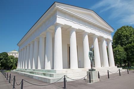 Vienna - Volksgarten. Theseus temple from years 1819 bis 1823 by Peter von Nobile Stock Photo - 21516030