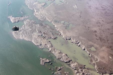 Sediments structure in the Cunovo Dam on the Danube river - Slovakia