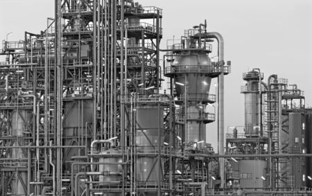 Oil refinery Schwechat in Austria photo