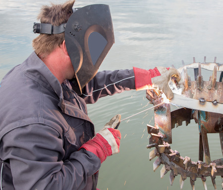welder at work Stock Photo - 26889057