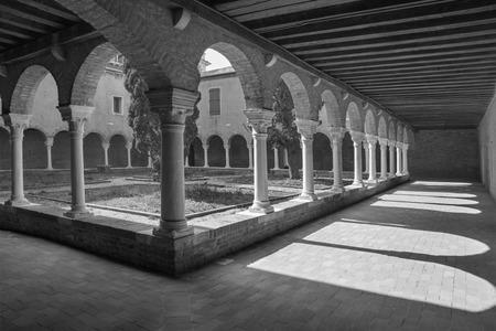 francesco: Venice - atrium of church San Francesco della Vigna