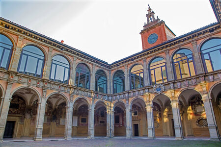 atrium: Bologna - atrium of Archiginnasio