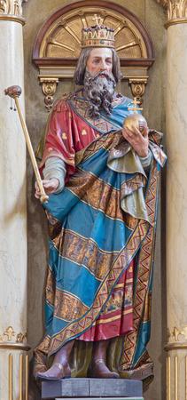 cat�licismo: stephen, eslovaquia, altar, catolicismo, rey, talla, cristo, estatua, santo, religi�n, arte, santo, cristianismo, fe, hungr�a, Roznava Editorial