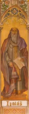 isaiah: by Leopold Bruckner (1905 - 1906) in Saint Nicholas church. Editorial